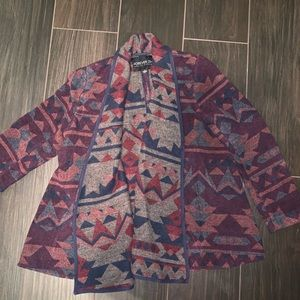 Forever 21 tribal print jacket